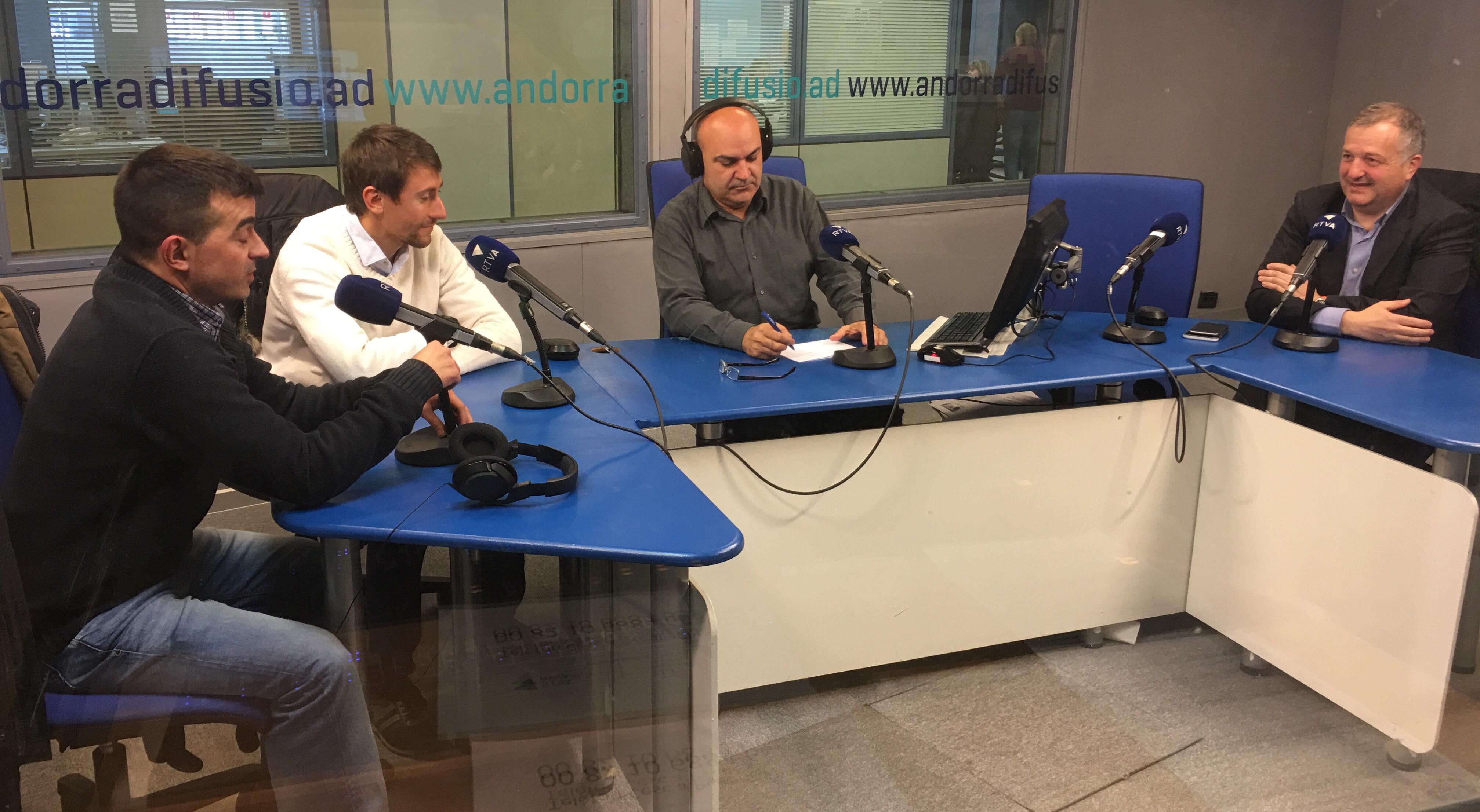 Entrevista a Bartumeu Gabriel, Jordi Cabanes i Oliver Alís