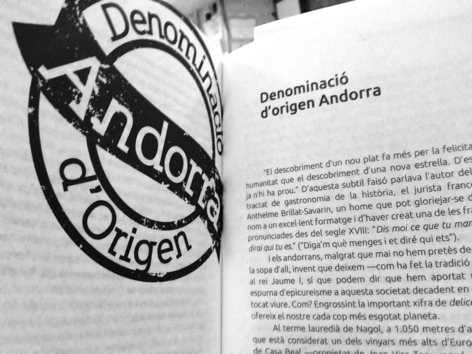 Productes amb DO Andorra, a les Històries de la nostra Història de l'Alfred Llahí