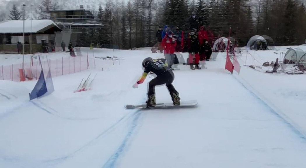 Andorra en blanc 22 de gener del 2021