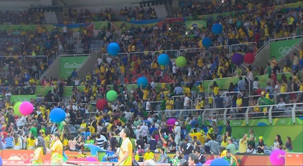 El Maracanazinho, la sensació dels Jocs