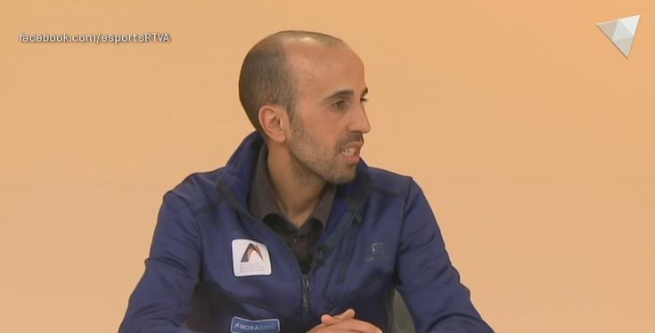 Dia E 1a Part - Celebrem amb Marc Casal el quart lloc a Livigno