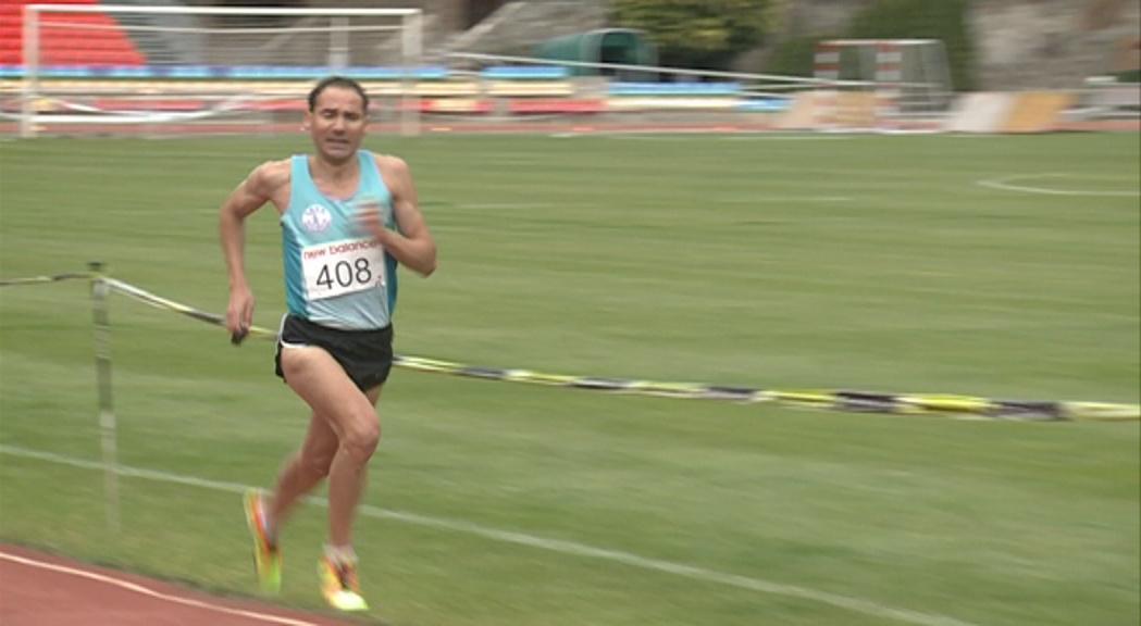 Marcos Sanza buscarà dues medalles d'or a Islàndia