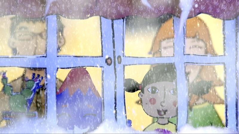 La Martina i el Vallineu: Nevades