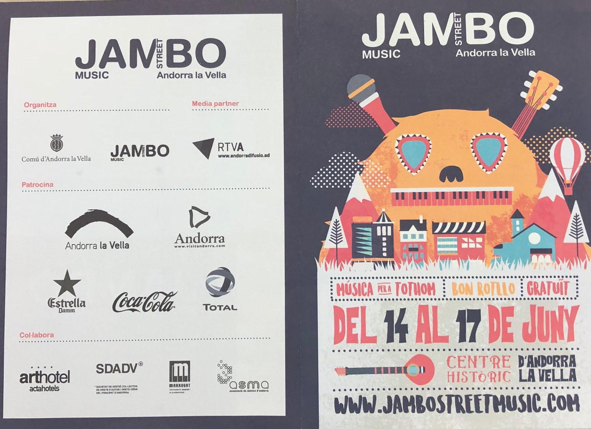 Tot a punt pel Jambo