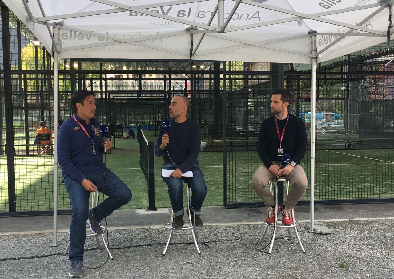 Dia E 1a Part - Els impulsors del World Padel Tour a Andorra