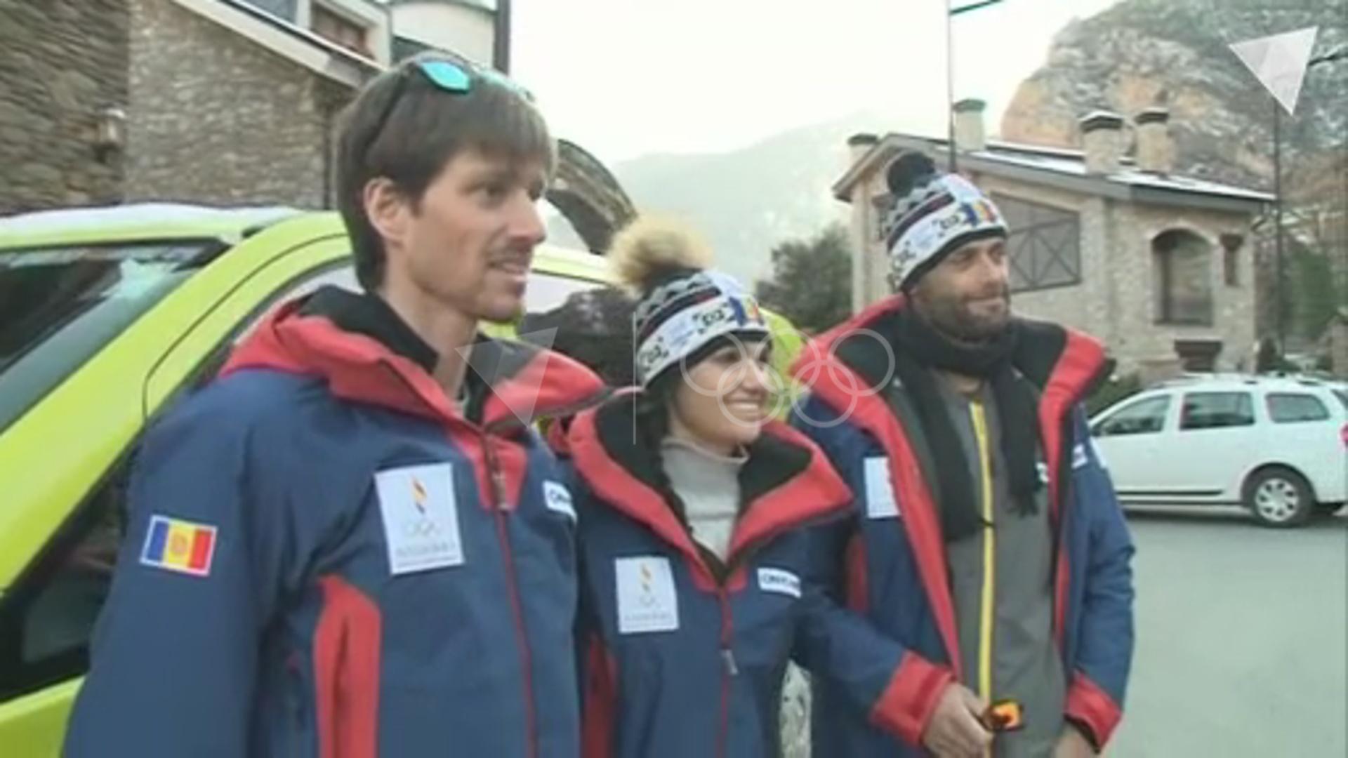 Mireia Gutiérrez emprèn el llarg viatge a PyeongChang