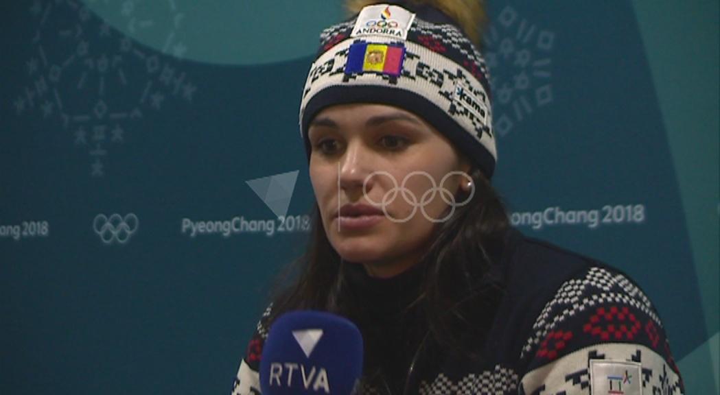 """Mireia Gutiérrez, sobre el 30è lloc a l'eslàlom: """"No és correcte però és honest"""""""