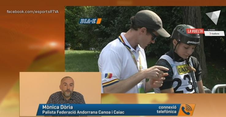 Dia E 2a part - Mònica Doria, per primera vegada en una final de Copa del Món