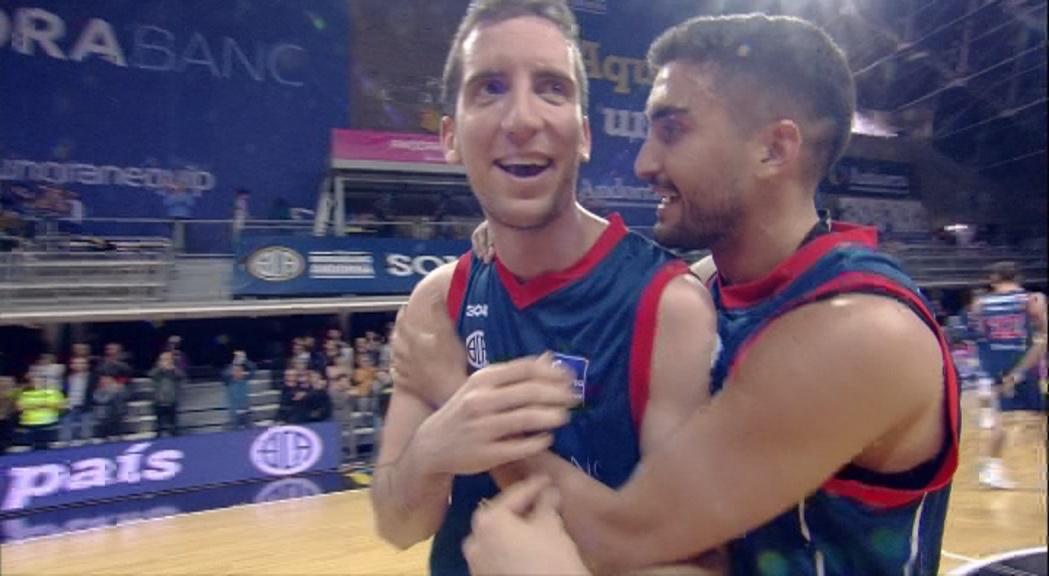 Dia E 1a part - El MoraBanc Andorra torna a ser equip de play-off