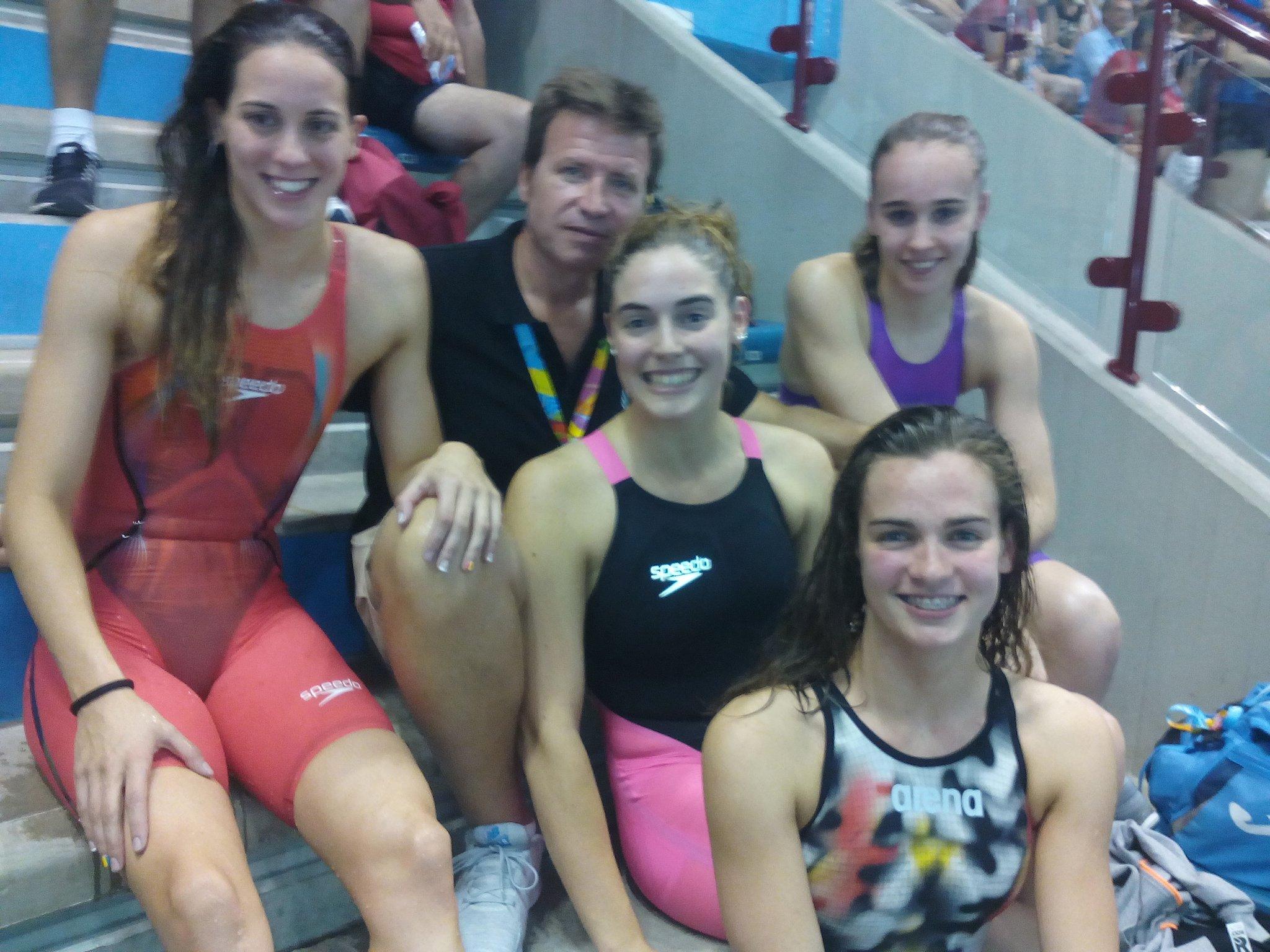 Sisè lloc als relleus 4x100 per a les nedadores andorranes