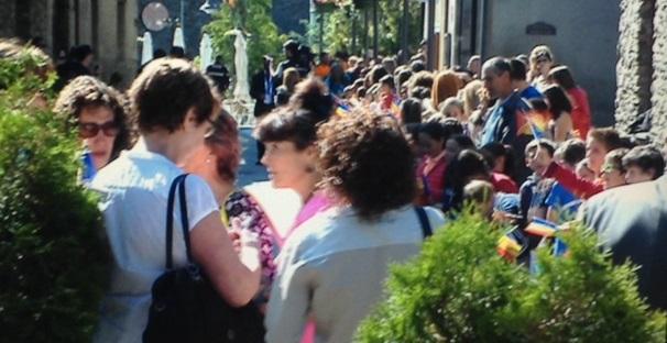 Hollande arriba a Ordino en una de les visites més properes