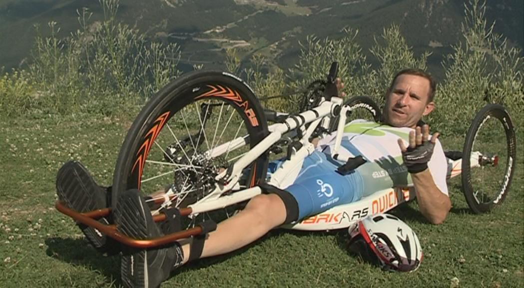 Òscar Lanza: passió, superació i ciclisme