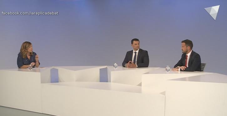 Jordi Gallardo i Pere López expliquen el pacte electoral entre Liberals i PS