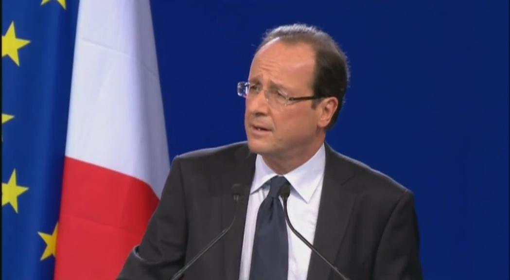 Hollande i la situació política a França