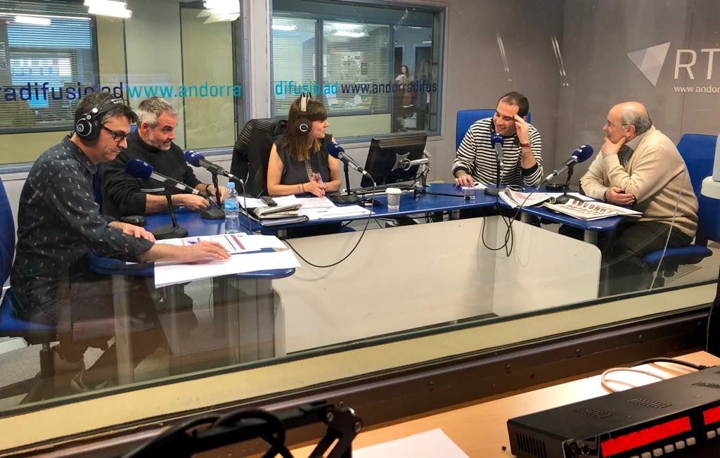 Especial Jornada electoral RNA - L'anàlisi periodístic de les EG2019 amb Albert Roig, Yvan Lara i Gualbert Osorio