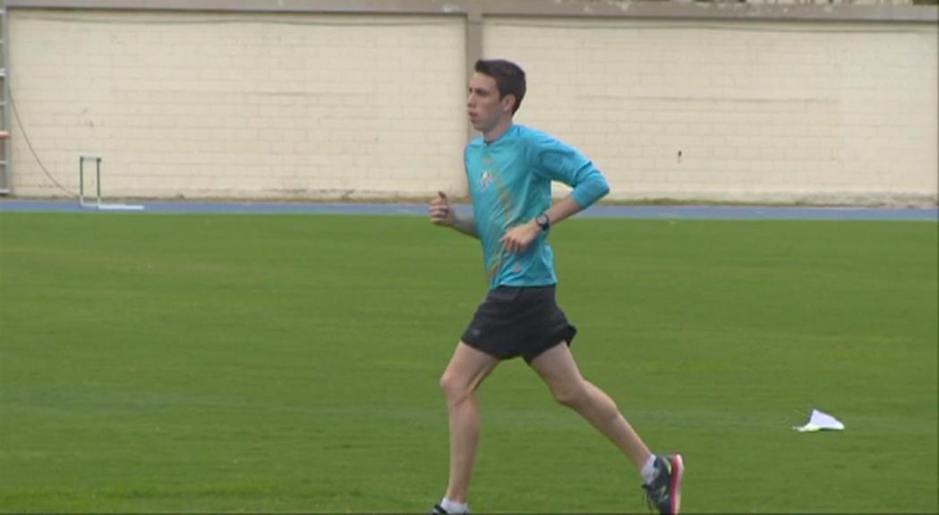 """Pol Moya vol rebaixar la seva marca a Rio: """"Estic fent els millors entrenaments de la temporada"""""""