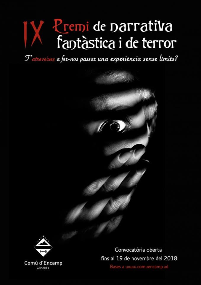 IX Premi de narrativa fantàstica i de terror