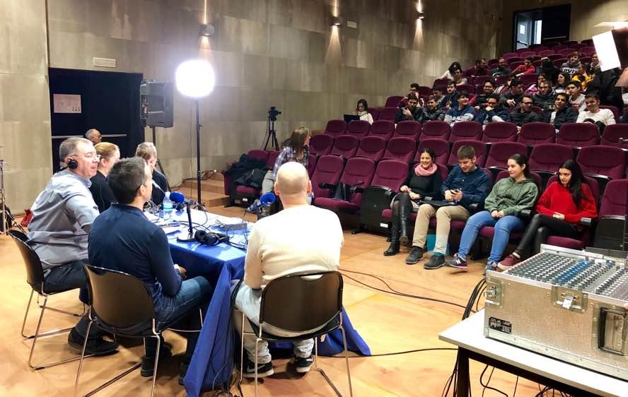 Entrevista Víctor Reolid, Miriam Fernández, Anna M. Moreno, Josep Ribó, Josep Vilana i Bea Lorenzo
