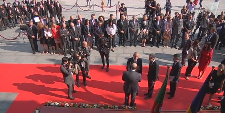 1a part de l'especial amb motiu de la visita del president de Portugal