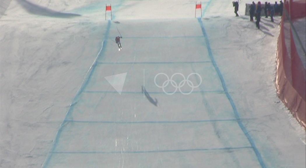 Els esquiadors alpins, pendents de les condicions meteorològiques a Jeonseong