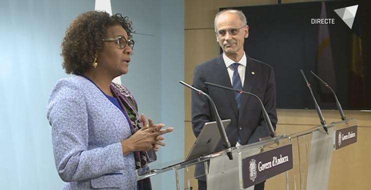 Roda de premsa de la Secretària General de la Francofonia