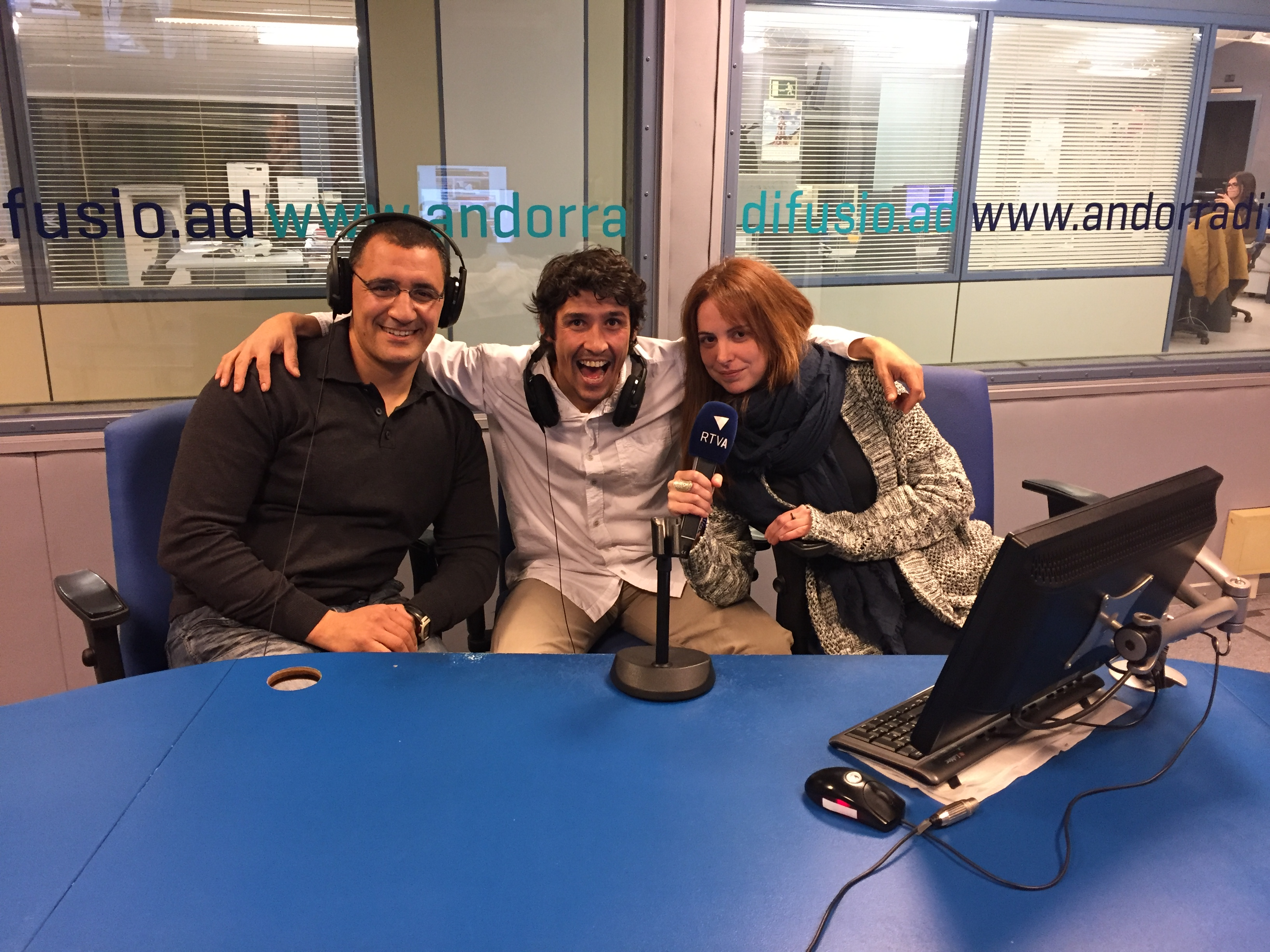 El refugi, amb Omar El Bachiri