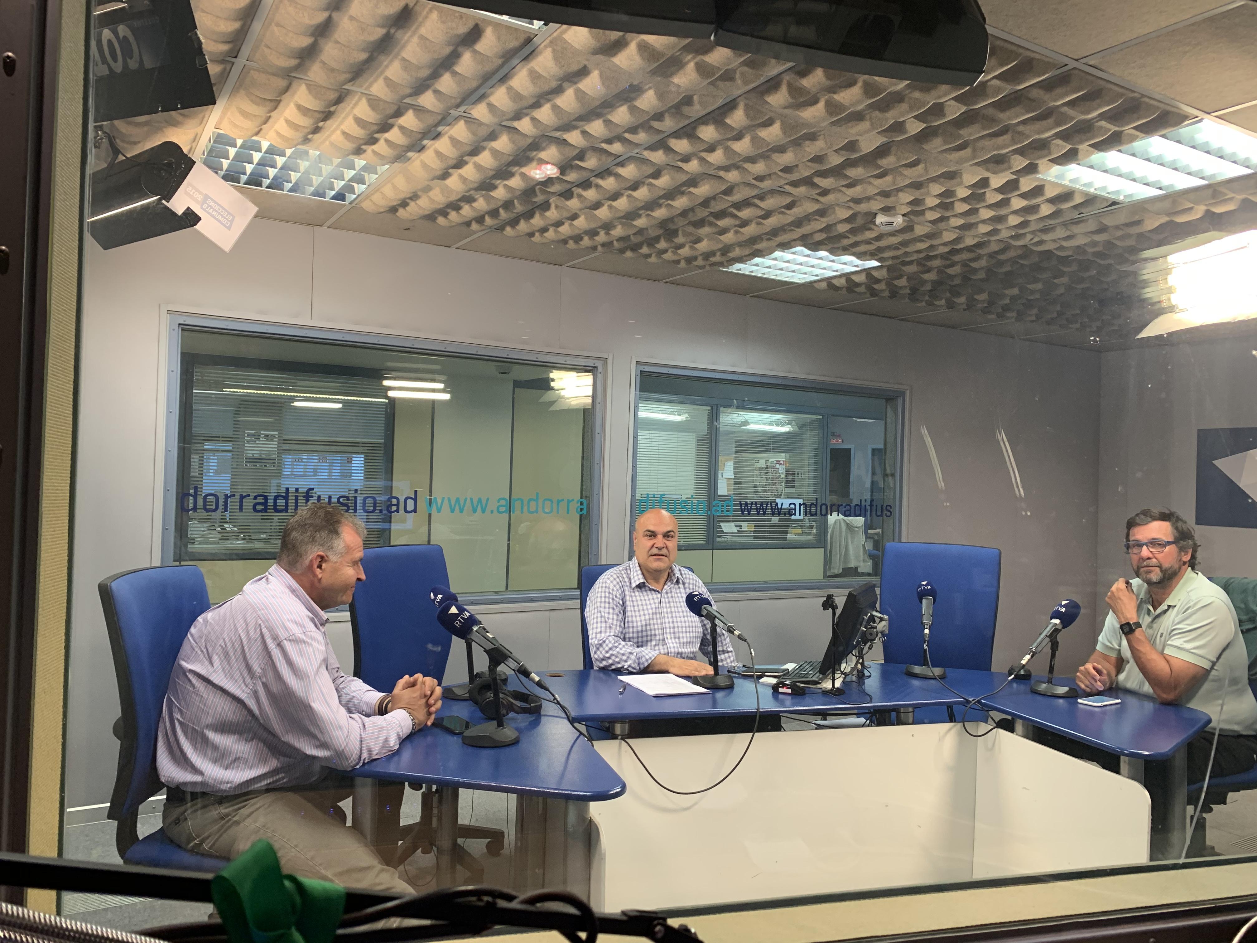 Tertúlia amb Josep Punti i Joan Babot 17 de juny del 2019