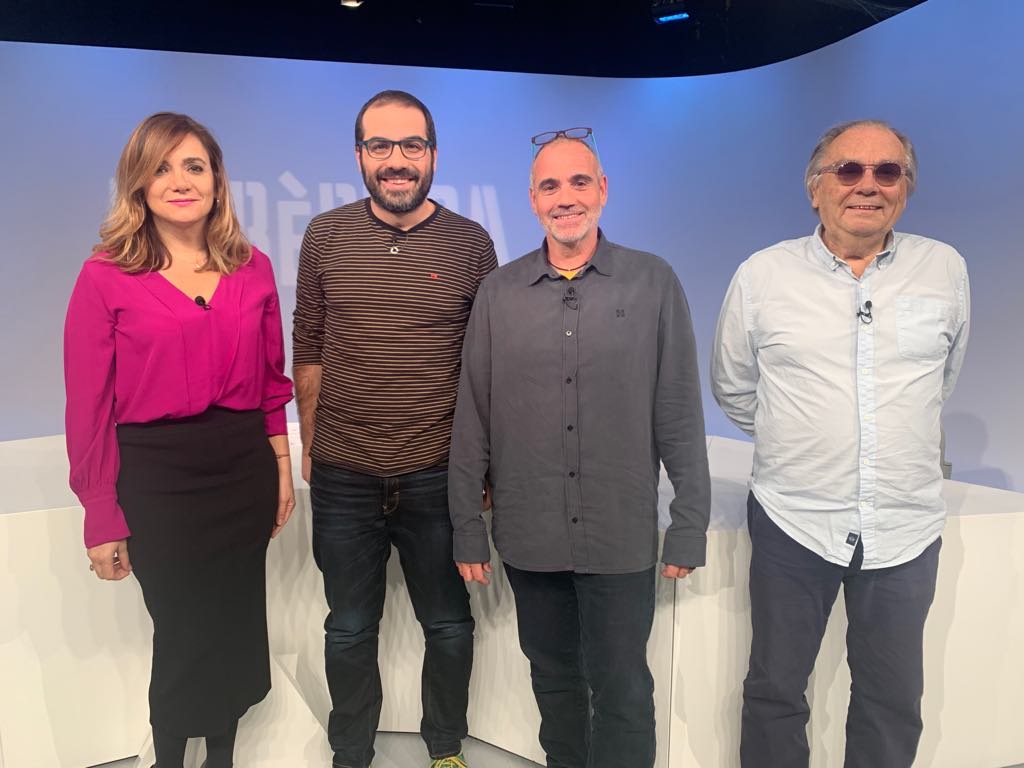 Albert Roig, Yvan Lara i Paco Ruano analitzen en tertúlia les llistes de les #EC2019
