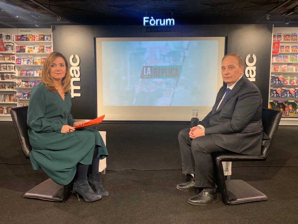 Entrevista al president del grup de Terceravia, Josep Pintat