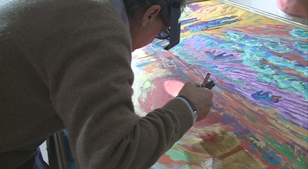 El camí de les obres d'art fins arribar al museu Thyssen Andorra