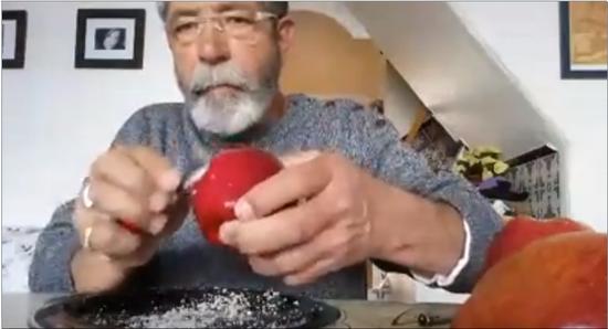 la veritat sobre el vídeo viral de la cera de la poma