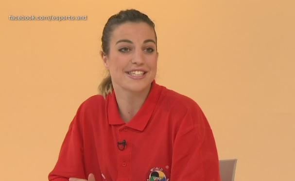 Dia E 2a part - Sandra Herver torna satisfeta del Mundial de karate de Linz