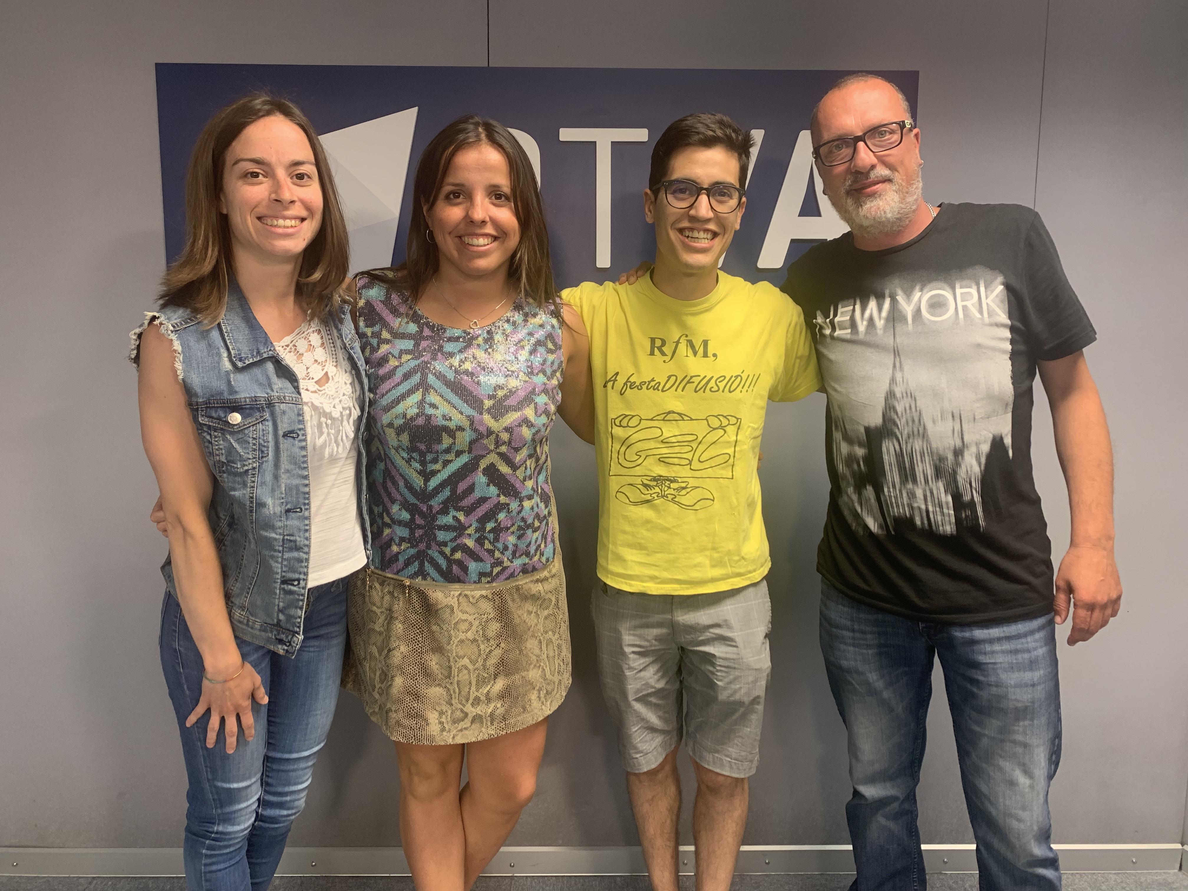 Entrevista radio festa major st Julià