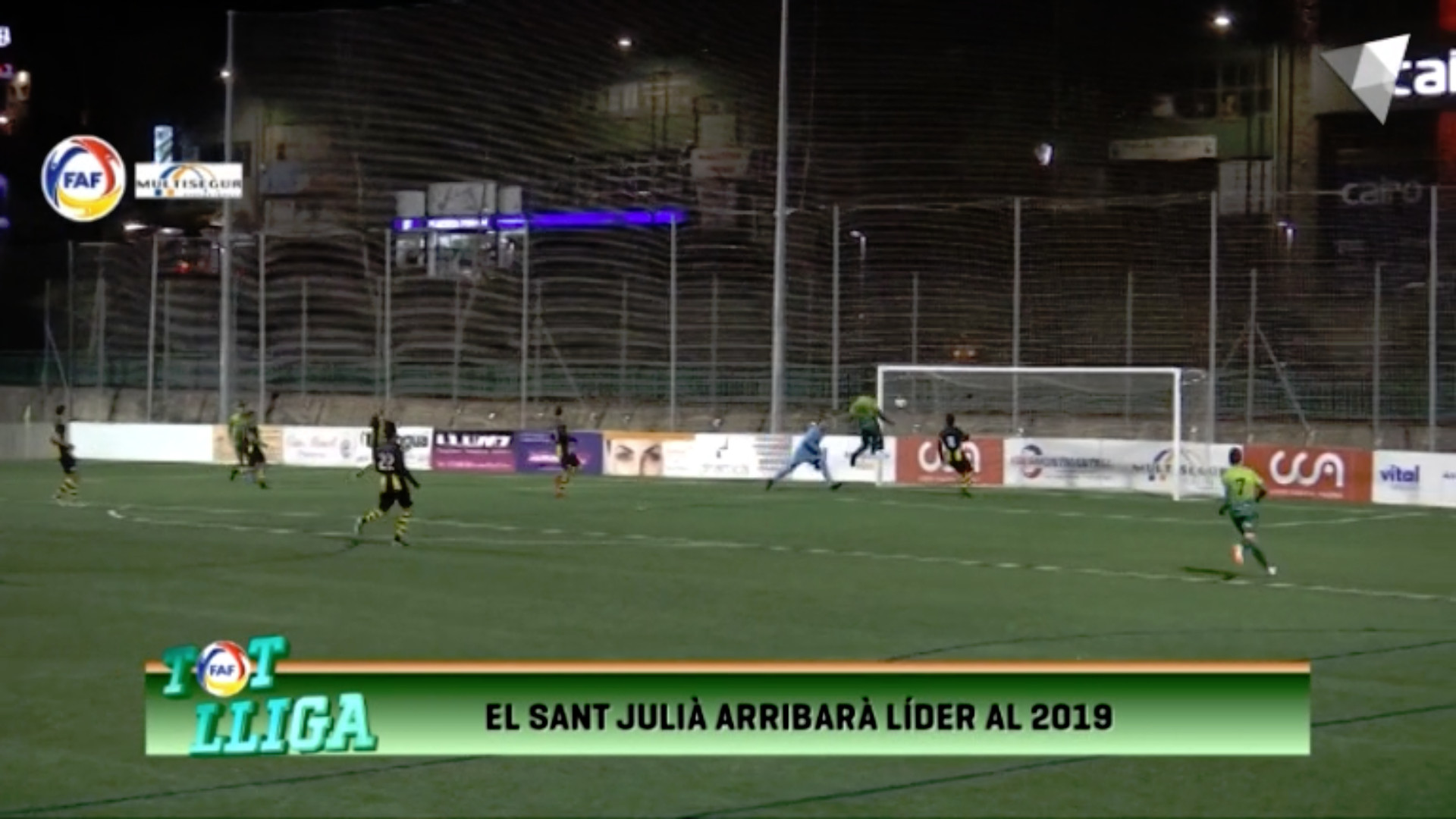 Tot Lliga - El Sant Julià arribarà al 2019 com a líder