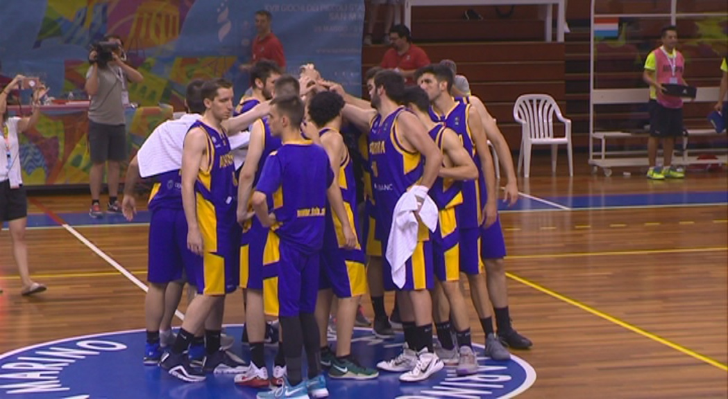 La selecció de bàsquet cau contra Luxemburg i perd l'opció de medalla (98-84)
