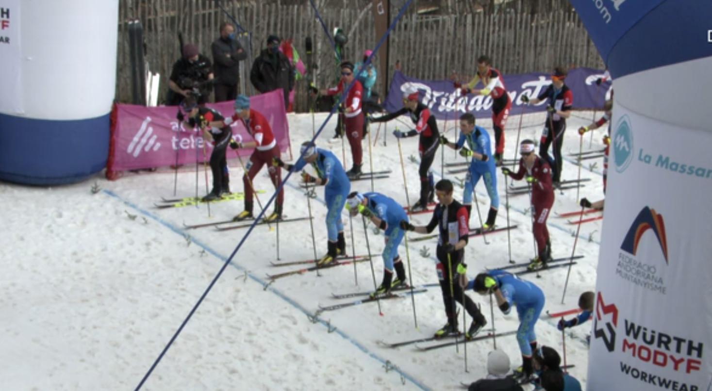 Programa especial cursa vertical Campionat del Món d'esquí de muntanya ISMF 2021 Comapedrosa Andorra - part 3
