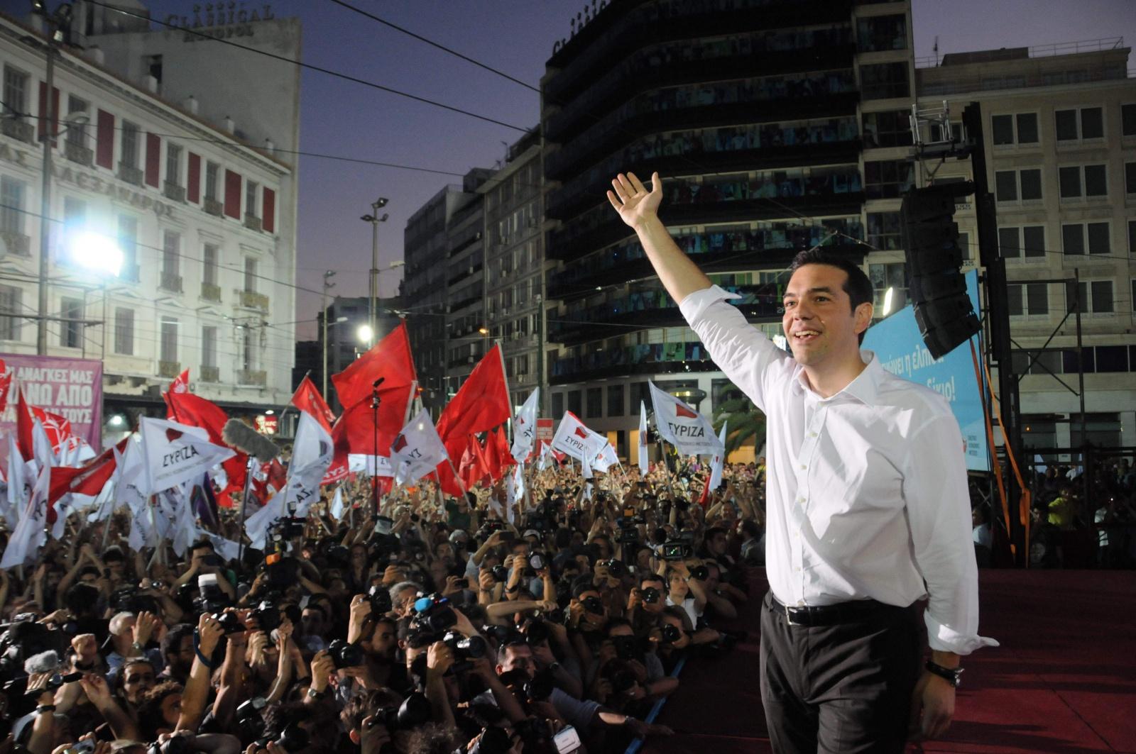 l' impacte Syriza als mitjans