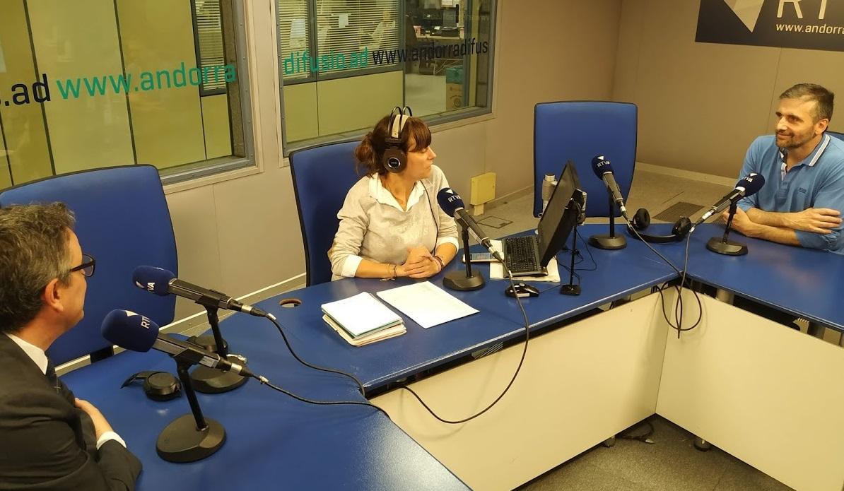 Tertúlia amb Joan Micó i Manel Ara 31 de maig del 2019
