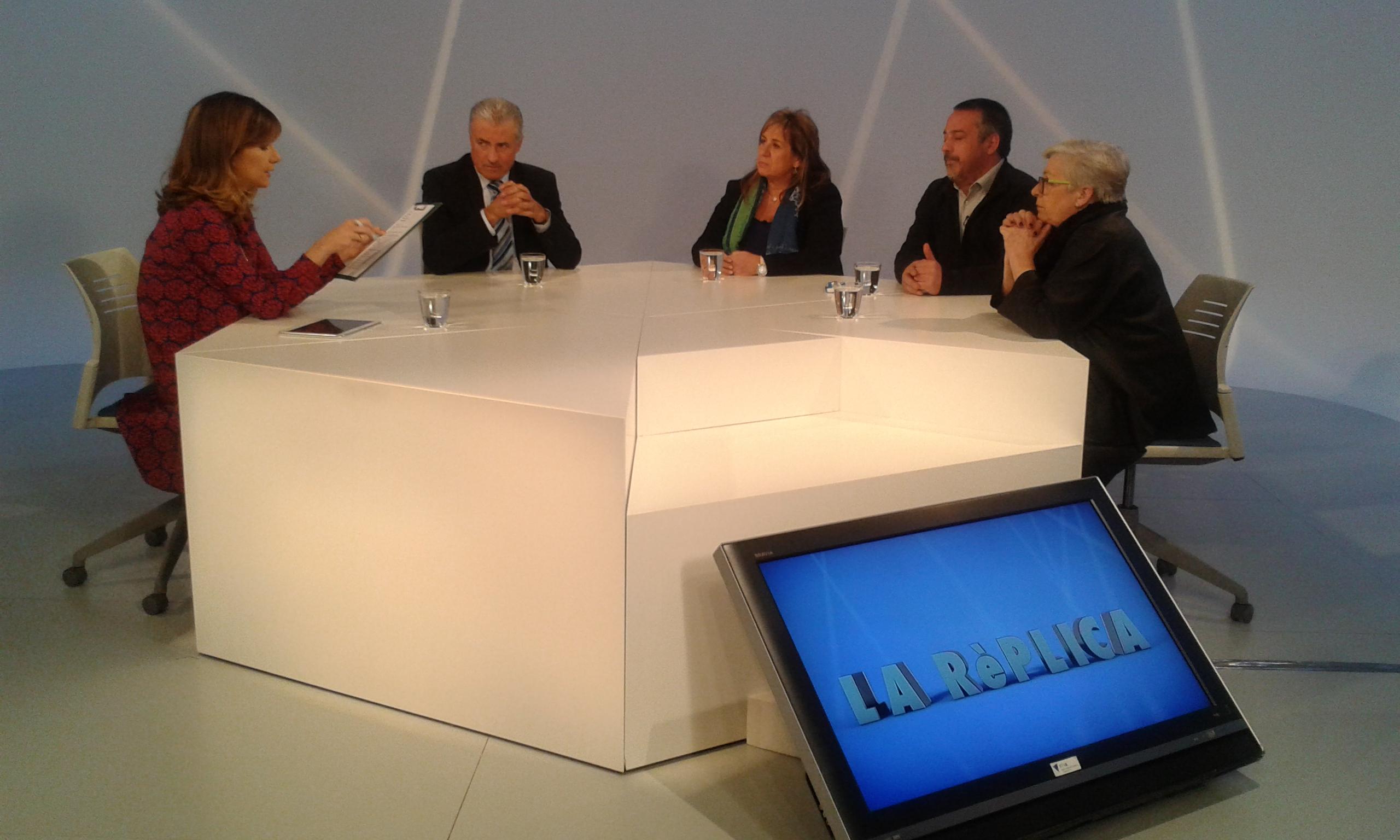 Tertúlia amb Júlia Martínez Illescas, Ricard de Haro, Isabel Lozano i Josep Mª Cabanes