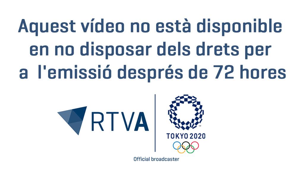 """Pol Moya i Mònica Doria: """"Només entrar a l'Estadi Olímpic se'ns han posat els pèls de punta"""""""