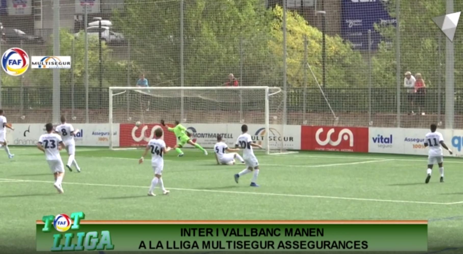 Tot Lliga - Inter i Vallbanc manen