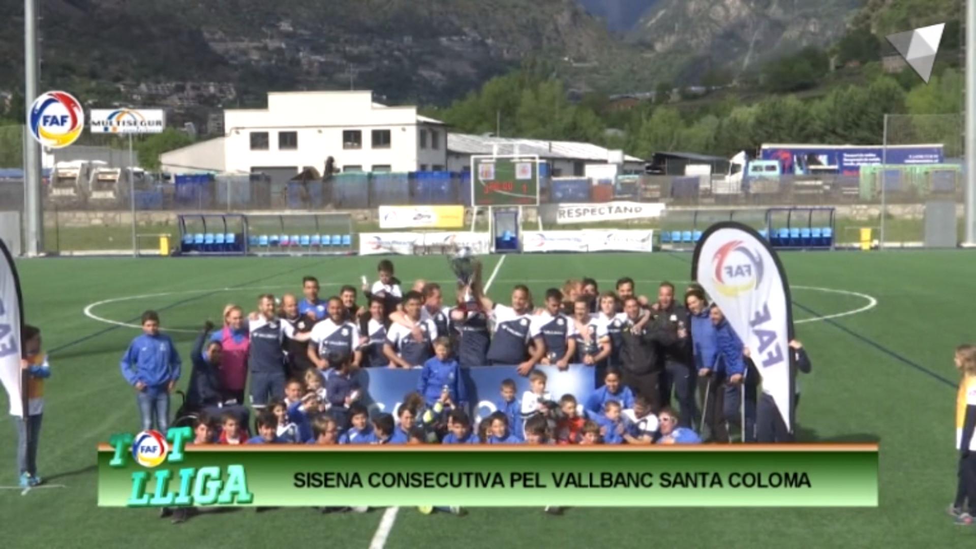 Tot Lliga - Sisena consecutiva per al VallBanc Santa Coloma