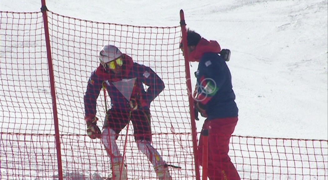 Verdú tancarà els Jocs Olímpics a l'eslàlom gegant amb el dorsal 46