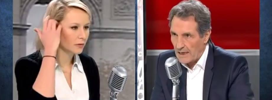 Marion Marechal Le Pen versus Jean Jacques Bourdin