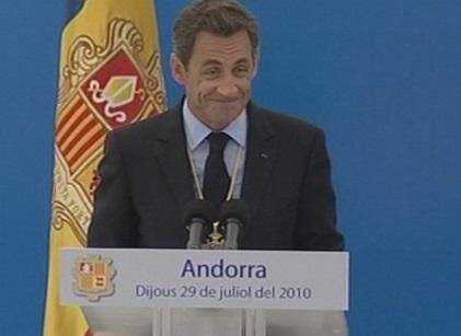 La visita de Nicolas Sarkozy