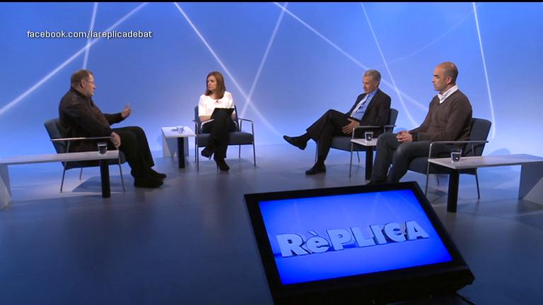 La rèplica- Tertúlia amb Jordi Font, Josep Maria Cabanes i Guillem Valdés