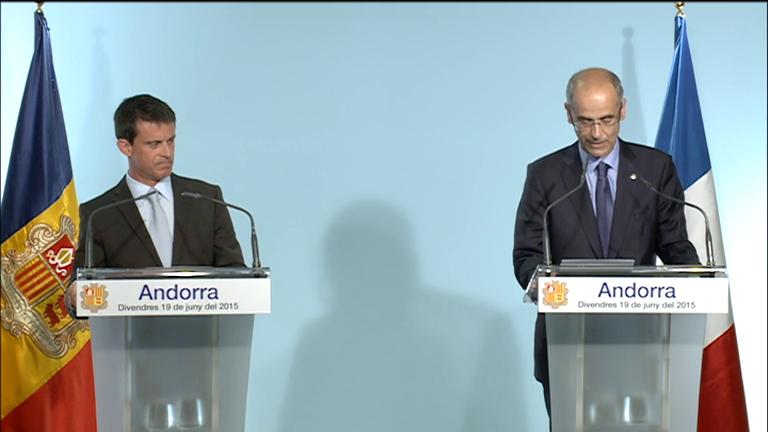 Roda de premsa íntegra de Manuel Valls i Antoni Martí