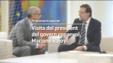 Visita del president del govern espanyol, Mariano Rajoy