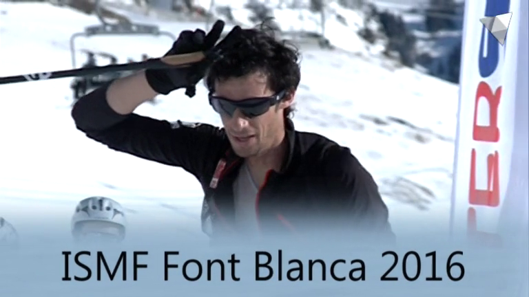 Programa Especial Copa del Món Scarpa ISMF Font Blanca 2016