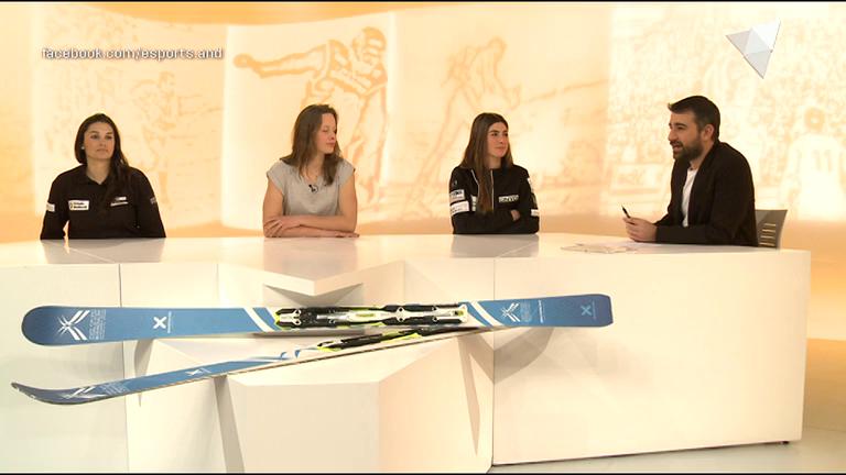 Dia E 1a part - Fem balanç de la Copa del Món amb les esquiadores andorranes
